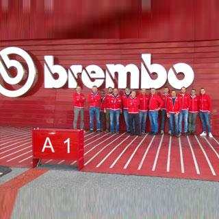 Visita alla Brembo
